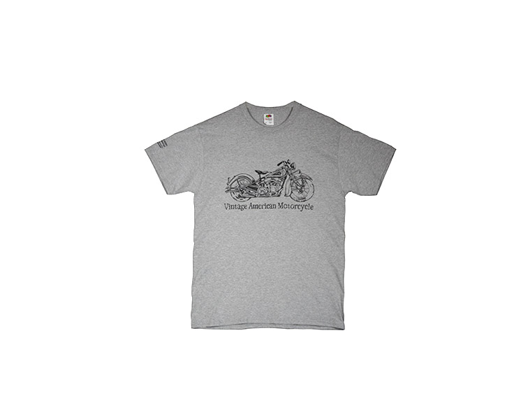 T-SHIRT, Vintage American Motorcycle, Abstract Bike